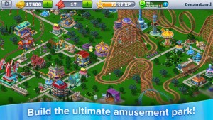 RollerCoaster Tycoon 4 Mobile Hits iPhone, iPad, and iPod touch
