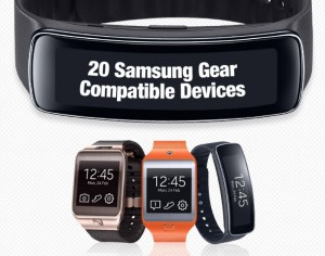 Samsung Gear Smartwatches Get Support For 20 Smartphones And Tablets