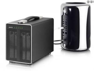 Akitio Thunder2Quad External Storage Device has Thunderbolt 2 connectivity