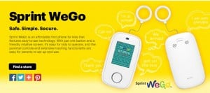 Sprint WeGo Lets Parents and Kids Stay connected