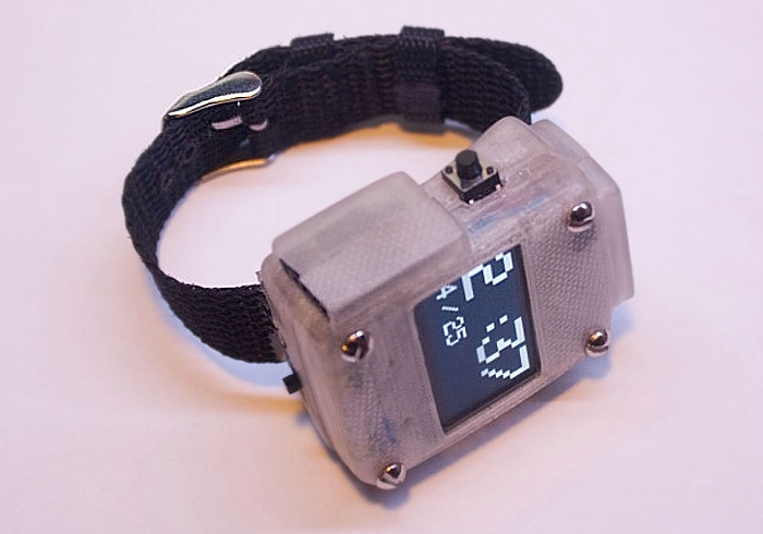 3D Printed Ardunio Smartwatch