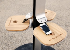 AT&T Solar Street Charging Stations Once Again Available In New York