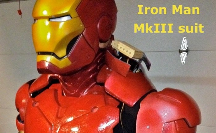 Awesome Arduino Powered Iron Man Suit (video)