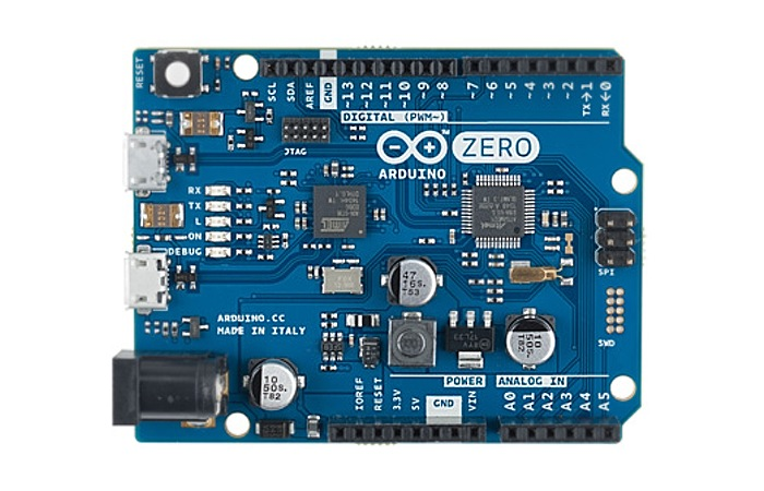 Arduino zero bit board unveiled by atmel and