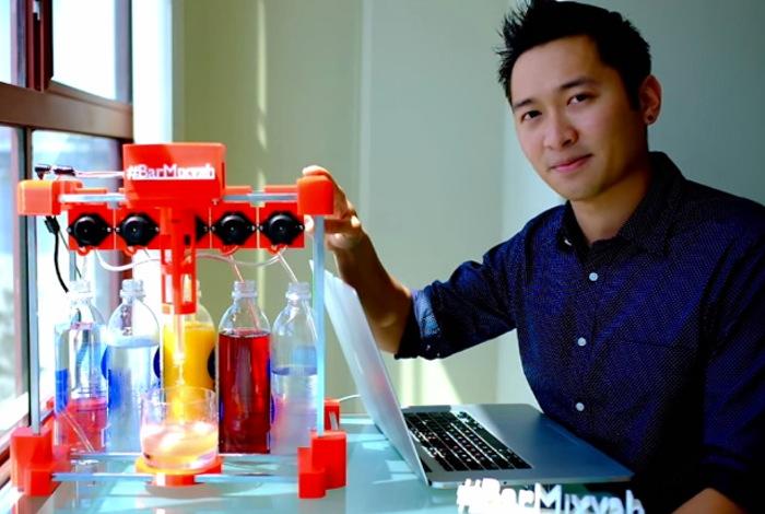 Arduino robotic bartender