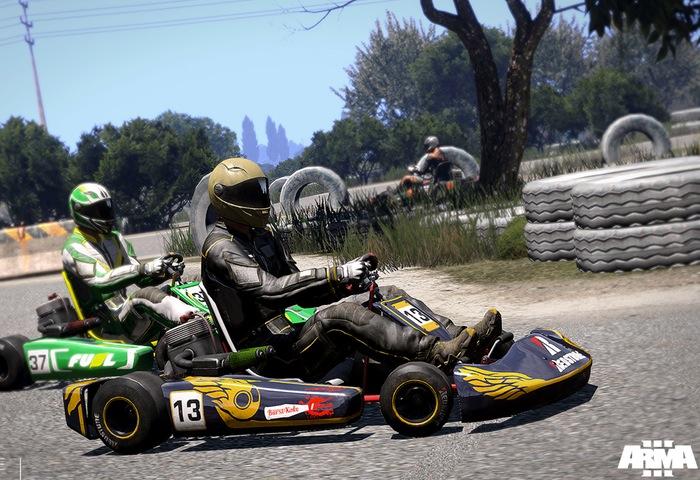 Arma 3 Kart Racing