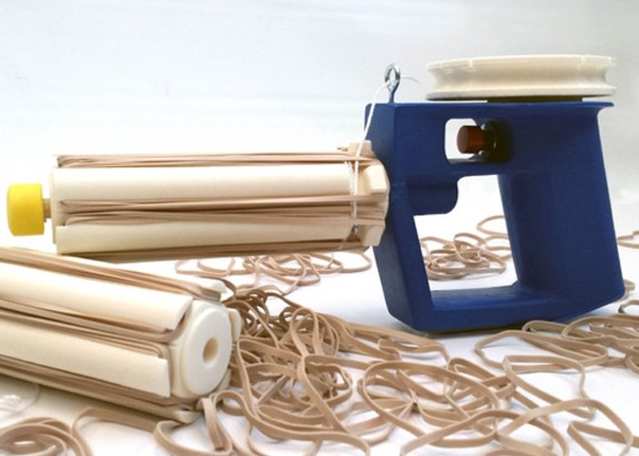 Automatic Rubber Band Blaster