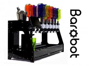 Barobot Cocktail Mixing Robot Launches On Kickstarter (video)