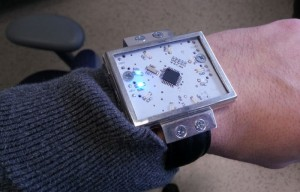 ChronosMEGA ATmega328P Powered DIY LED Watch (video)