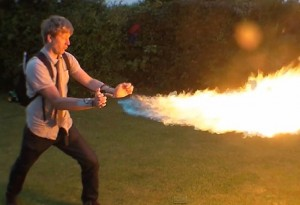 Colin Furze Creates X-Men Pyro Backpack (video)