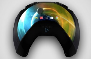 Concept Nexus Play Handheld Games Console Features Curved Display (video)