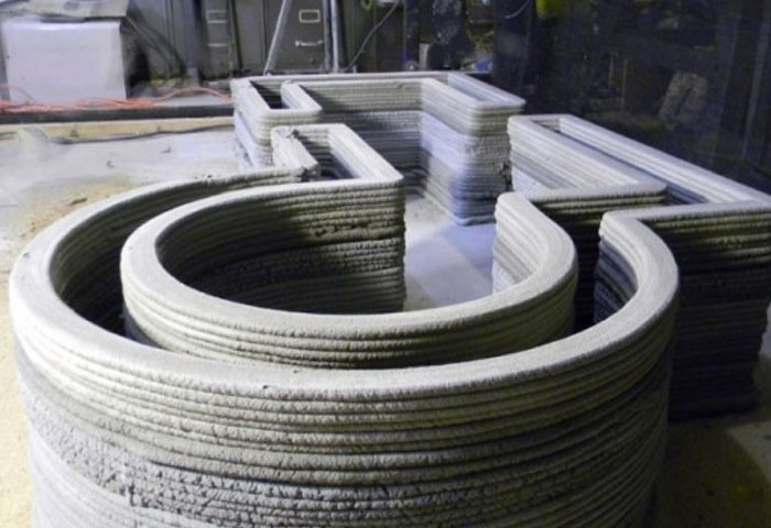 Concrete 3D Printer Created Using RepRap And Pronterface