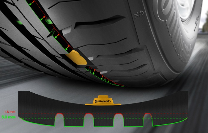 Continental Tyre Tread Sensors