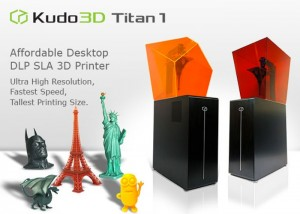 Titan 1 SLA Desktop 3D Printer Launches On Kickstarter (video)