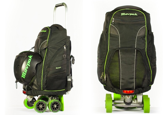 Movpak Electric Skateboard Backpack Unveiled