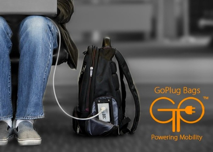 GoPlug Powered Bags