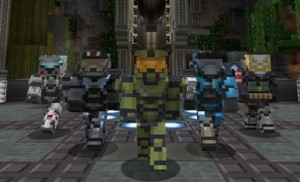 Halo For Minecraft Xbox 360 Edition
