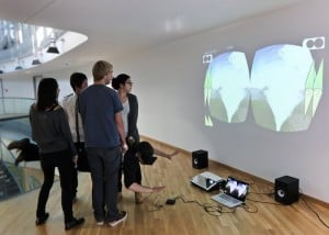 Oculus Rift Used To Create Haptic Turk Motion Platform Based On People (video)