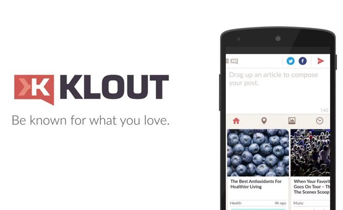 Klout Android App
