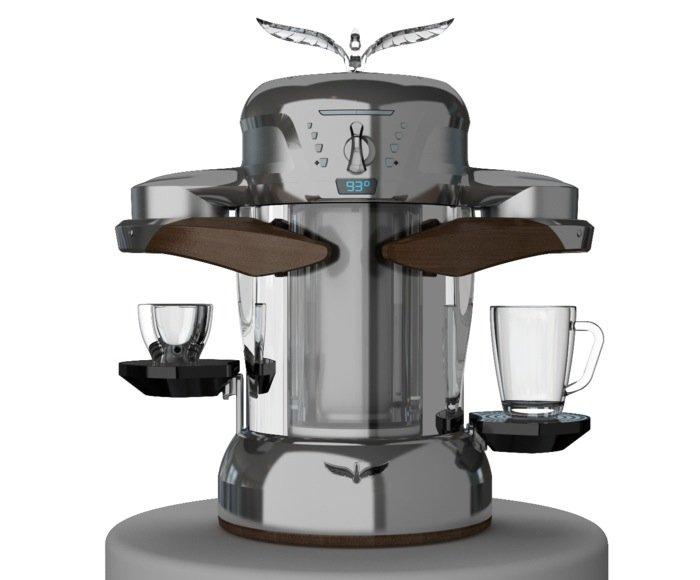 First Espresso Coffe Maker ~ La fenice the world s first induction coffee machine video
