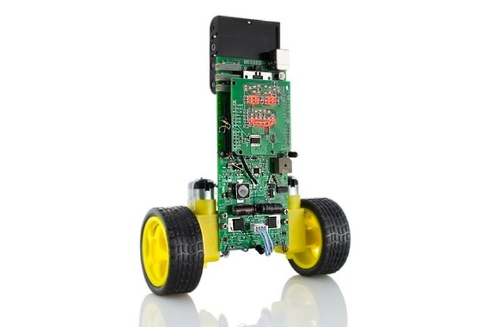 Lil bot arduino powered two wheeled self balancing robot