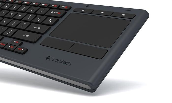Logitech Illuminated Living-Room Keyboard K830