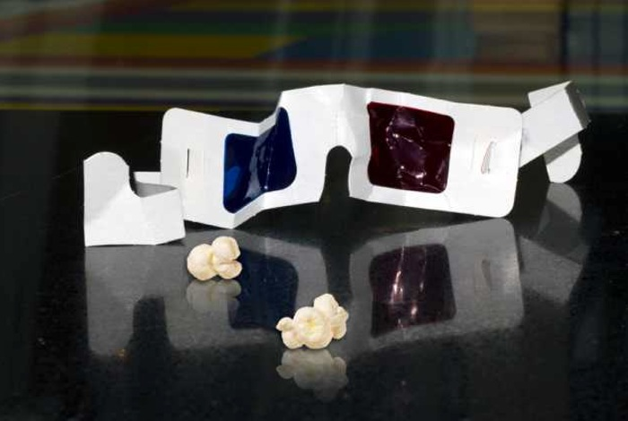 glasses free 3D projector