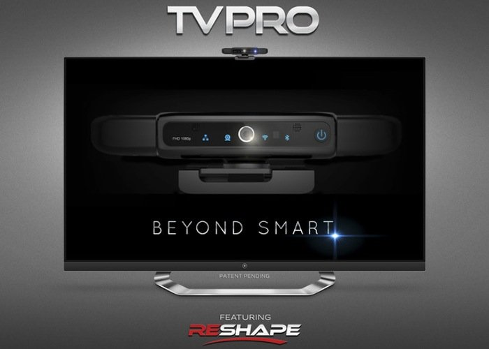 new style of interactive media player called the TVPro has this week ...