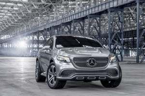 Mercedes Benz Concept Coupe SUV Spotted In The Wild