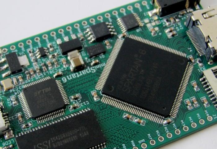 MiniSpartan6+ FPGA Board