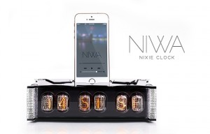 NIWA Nixie Clock And iPhone 5 Dock Launches For $349 (video)