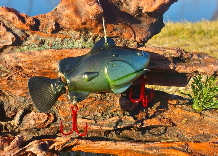 nano lure robotic fish has been designed to catch those big trophy, Hard Baits