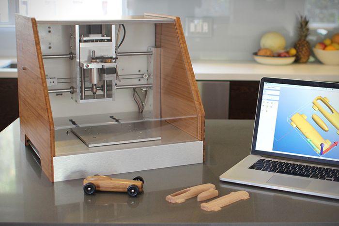 Nomad 883 CNC desktop mill