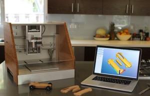 Nomad 883 Desktop CNC Milling Machine Launches On Kickstarter (video)