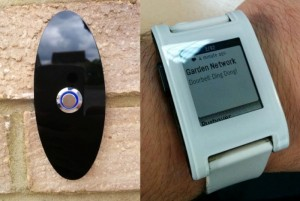 PebblyPi, Smart Doorbell Created Using Raspberry Pi And Pebble Smartwatch (video)