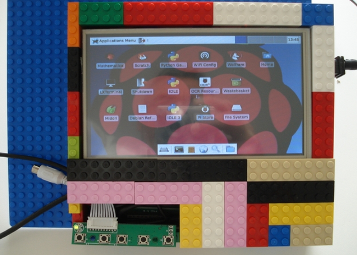 Pi-Tab Raspberry Pi Tablet