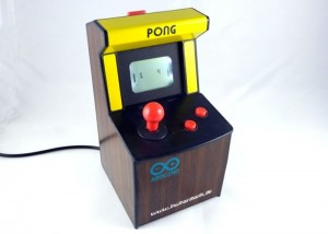 Duinocade Arduino Powered Mini Pong Arcade Game (video)