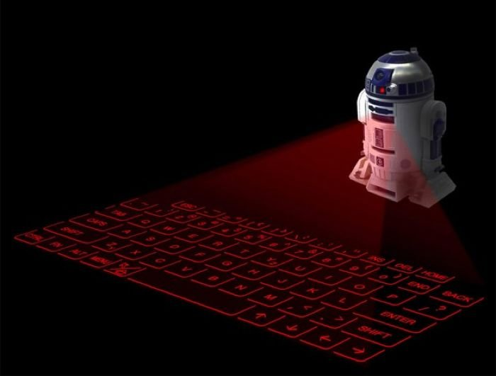 R2-D2 Virtual Keyboard