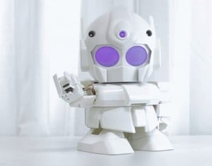 3D Print Your Very Own Raspberry Pi Powered Rapiro Robot (video)