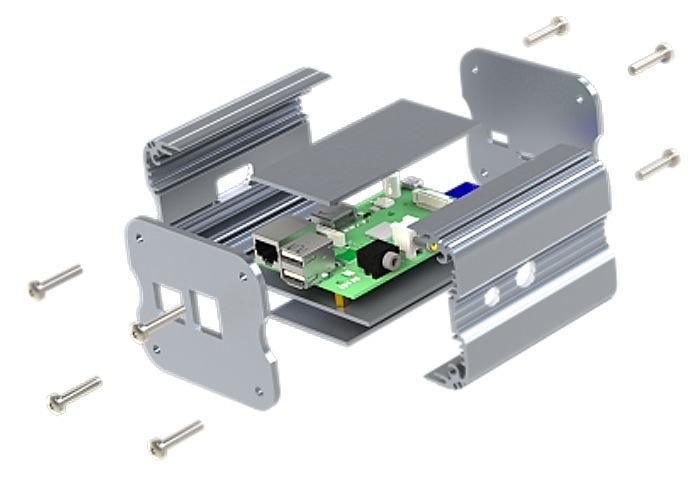Raspberry Pi Aluminium Case