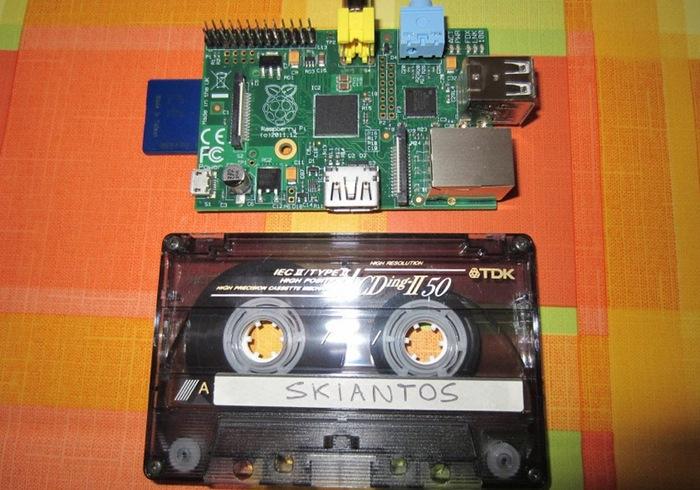Raspberry Pi Cassette Tape Case