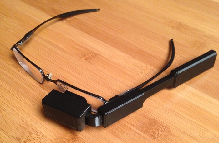Raspberry Pi powered glasses