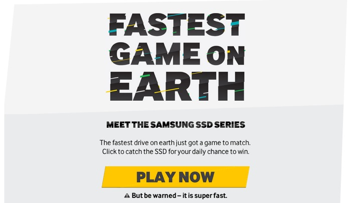 Samsung SSD Game