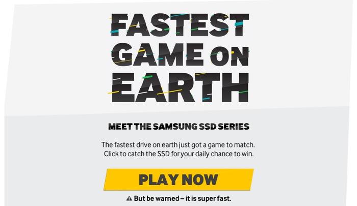 Samsung SSD Game