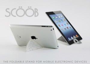 Scoob Lightweight Folding Tablet Stand (video)