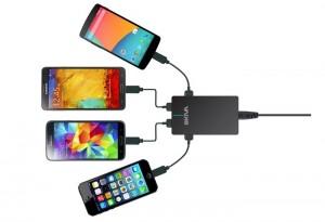 SmartQuad 4 Port 9.6 Amps 48W USB Charger (video)