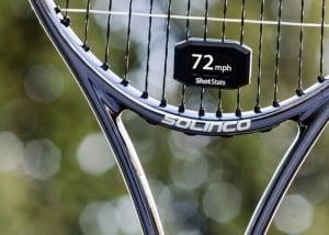 Shot Stats Challenger Transforms A Standard Tennis Racket Into A Smart Racket