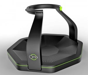 Virtuix Omni Treadmill And Oculus Rift Playing Counter-Strike (video)