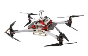 Vortex Advanced Heavy Lifting Multirotor Drone Copter (video)