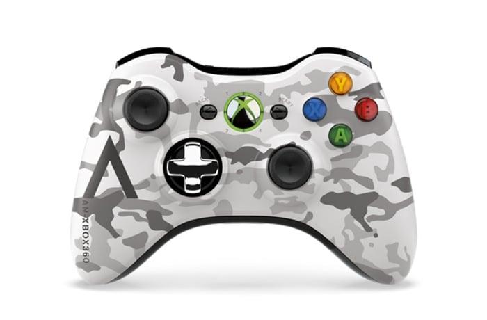 Xbox 360 Arctic Camouflage